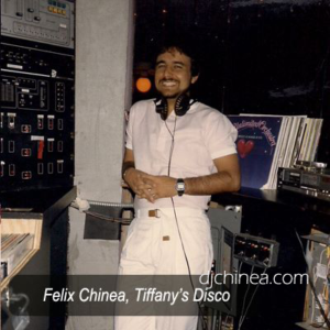 DJ Felix Chinea Tiffanys Disco.