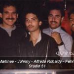 DJ Lewis Martinee DJ Alfredo Rohaidy Studio 51