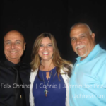 DJ Felix Chinea, Connie and Joe Piriz.