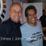 "DJ Felix Chinea and John ""Jellybean"" Benites"