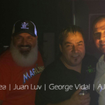 DJ Felix Chinea, Juan Luv, George Vidal and AJ Falcon.