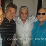 DJ Felix Chinea, Lewis Martinee, Ciro LLerena and Leo Vela