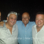 DJ Felix Chinea, Freddy Lopez, Ciro LLerena and Jimmy Yu,