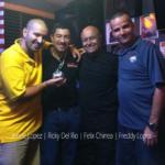 DJ Felix Chinea, Jessee Lopez, Ricky Del Rio and Freddy Lopez.
