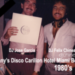 DJ Felix Chinea and DJ Jose Garcia