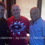 DJ Felix Chinea, Lewis Martinee and Jay Gelfand.