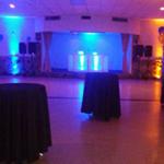 Event Hall Uplighting.